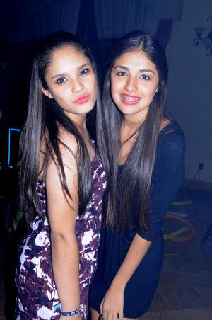 Paola y Brenda.
