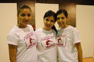 Diana L. Nápoles Alvarado, Brenda Carrillo Córdova y Mariana Torres Aguilar.