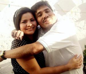 Cynthia y Luis García.
