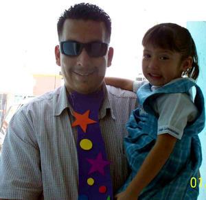 Saúl y Andrea Álvarez.