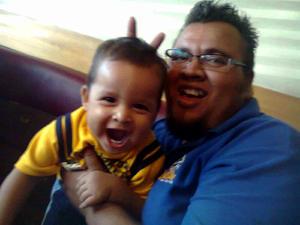 Razhiel y Raúl.