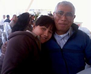 Fabiola y Héctor Sánchez.