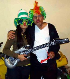 Eva y Antonio Rodríguez.