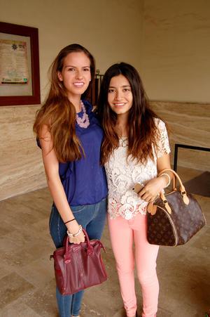 MARCELA  y Ana Sofía.