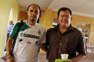 MIGUEL áNGEL VARGAS  y Sergio Aguilera.