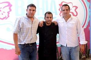 JAIME,  Rodrigo y Javier.