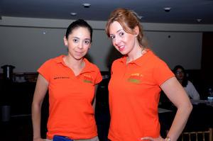 MARCELA MONTOYA  y Ana de la Fuente.