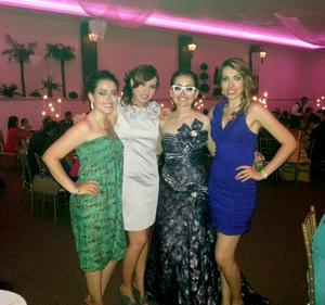 Sofía, Marysol, Mafer y Silvia.