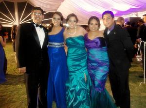 Víctor G. Gavaldón Berna, Ana Rosa Cadillo, Mercedes A. Flores Martínez, Karla Silvia Ortegón y Ricardo Ríos Rodelo.