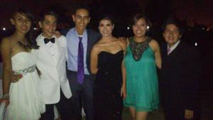 Mariela, Ever, Daniela, Karla Carmelina y Lalo.