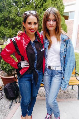 Mariana y Astrid.
