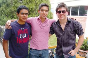 Antonio, Luis y Daniel.