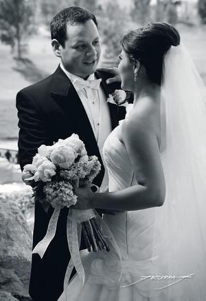 ING. Rodrigo  Fernández Ruiz e Ing. Dulce María Abril Perales García contrajeron matrimonio.- Flavio Becerra Fotografía
