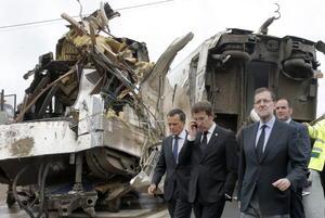 El presidente del Gobierno español, Mariano Rajoy, anunció tres días de luto oficial en España por el accidente de tren ocurrido cerca de Santiago de Compostela.