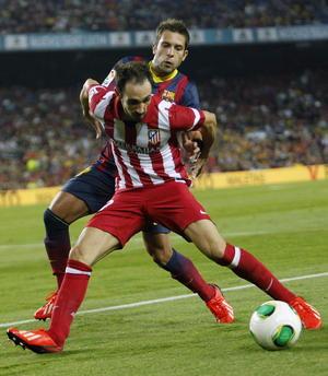 Al Atlético de Madrid hizo gala de mejor fútbol en lo que fue una noche difícil para el Barcelona.