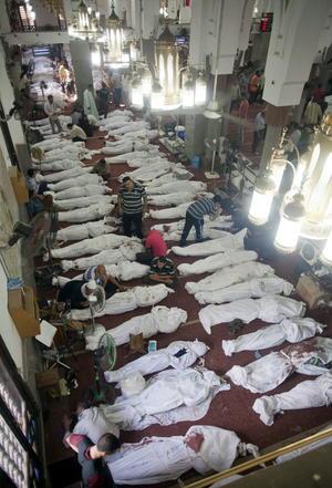 El Ministerio de Sanidad informó que al menos 525 personas murieron y 3,717 resultaron heridas en los disturbios.