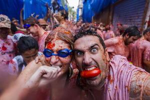 Españoles y turistas de todo el mundo acudieron a celebrar esta conocida fiesta.