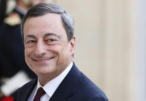 El presidente del Banco Central Europeo, Mario Draghi se posicionó en el noveno sitio.