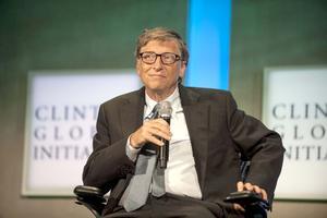 Bill Gates, el multimillonario cofundador de Microsoft y responsable de la fundación que creó junto a su esposa Melinda aparece en el lugar seis.