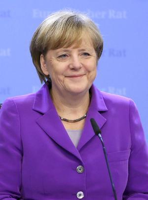 La canciller alemana, Angela Merkel, aparece en el quinto puesto de la lista.