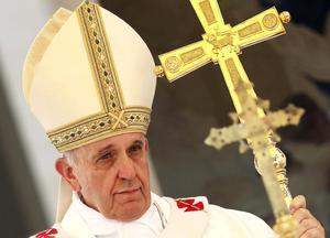 Una de las grandes novedades es la irrupción del papa Francisco en el cuarto lugar.