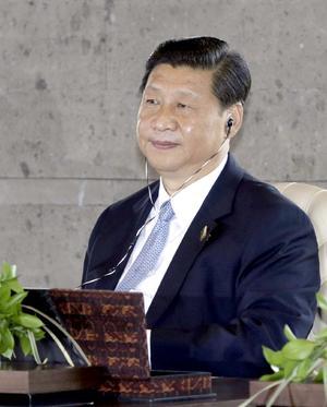 El secretario general del Partido Comunista Chino, Xi Jinping, ocupa el tercer puesto de la lista.