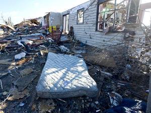 El estado más afectado es Illinois, pero también han sufrido el paso de tornados y tormentas Ohio, Wisconsin, Indiana, Michigan, Kentucky y Misuri.