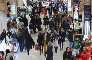 Estimaciones apuntan a que el grueso de las compras durante este periodo se efectuarán este viernes, cuando 67 millones de personas realizarán adquisiciones.