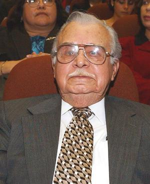 4 de diciembre. Braulio Fernández | A los 101 años de edad falleció el exgobernador del estado de Coahuila, Braulio Fernández Aguirre.