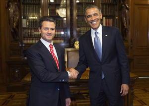 2 de mayo. Visita | El presidente estadounidense Barack Obama realiza una visita oficial a México, donde es recibido por el presidente Enrique Peña Nieto.
