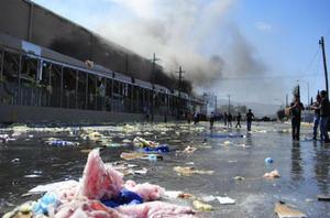 24 de octubre. Tragedia | Una explosión en una fábrica de dulces de Ciudad Juárez, Chihuahua, deja al menos nuevo muertos.