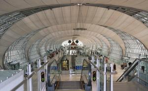 El futurista e innovador aeropuerto de Bangkok, el Suvarnabhumi, ocupó el noveno sitio en este conteo.