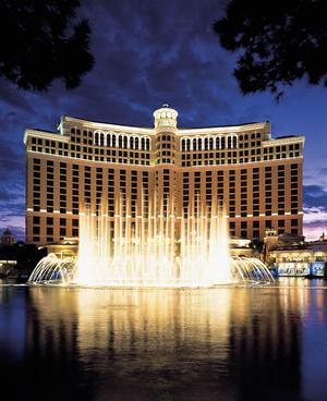La ciudad del juego y las apuestas no se podía quedar atrás y en este conteo es representada por las famosas fuentes del Hotel Casino Bellagio.