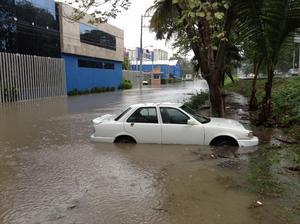 El frente frío 20 es el tercero que provoca inundaciones en Tabasco en 2013, y en el caso de Teapa.