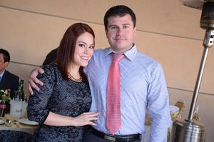 Karla y Francisco Ferrusca.