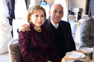 Rosa Elba y Guillermo Ortiz.