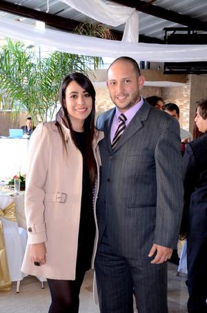 Ofelia Maltos y Alberto García.