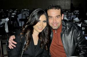 Marcela Gutiérrez y Jorge.