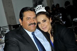 Héctor Hugo y Sandra Nidia.