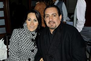 Marisol Díaz y Óscar Hernández.