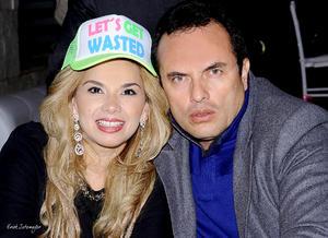 Karime y Javier.