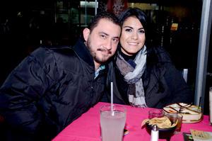 Luis y Gloria.