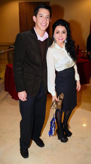 Luis y Mariana.