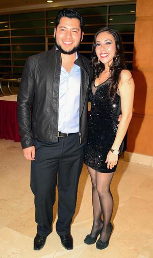 Javier y Lorena.