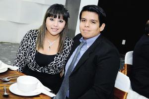 Karina y Fernando.