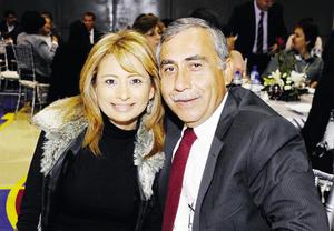 Sol de Silva y Javier Silva.