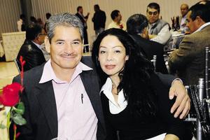 Juan Padilla y Elsa Salas de Padilla.