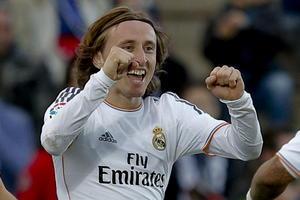 Modric tuvo un buen partido y su esfuerzo se vio recompensado al anotar un bonito gol que concretaba la victoria de su escuadra ante un débil Getafe.