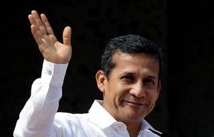 El peruano Ollanta Humala es otro de los mandatarios que participa de los trabajos de la Cumbre.