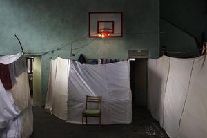 La fotografía realizada por el fotógrafo italiano Alessandro Penso, de Onoffpicture, logró el primer premio en la categoría de Temas de Actualidad.